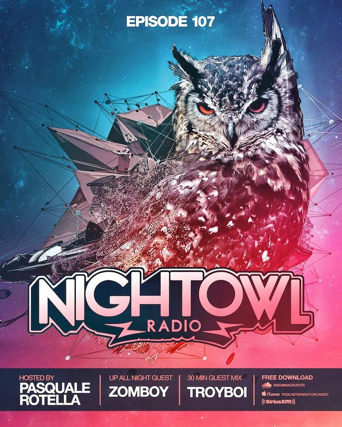 Night Owl Radio Episode #107 Flyer