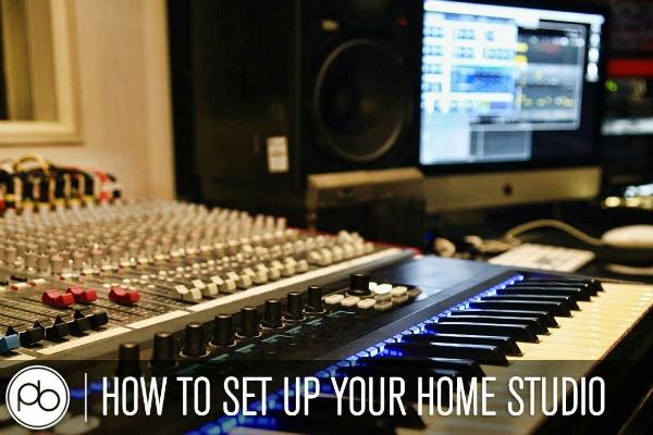 point blank music school setting up home studio
