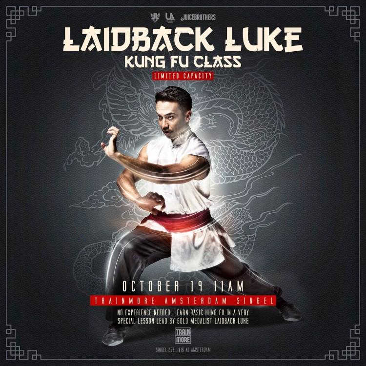 Laidback Luke 2017 Flier