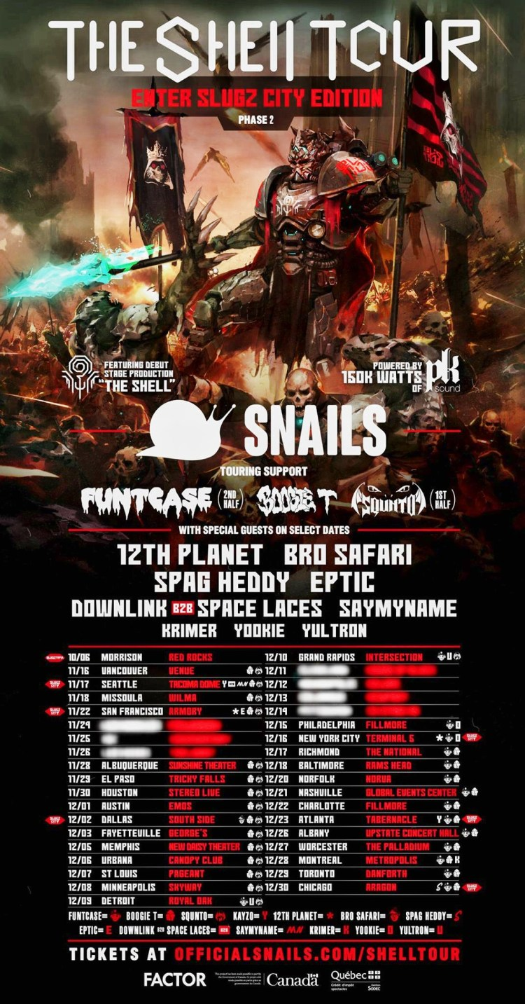 The Shell Tour