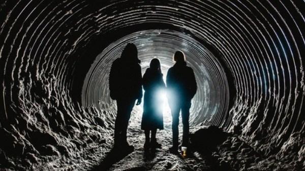 secret solstice 2018 glacier lava tunnel