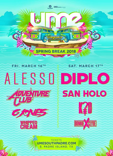 Ume Spring Break 2018 Flyer