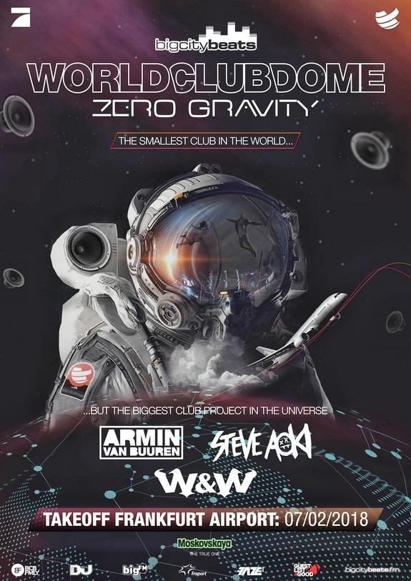 Zero Gravity Festival 2018 Flyer