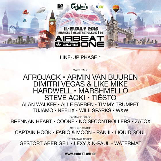 Airbeat One 2018 Flyer
