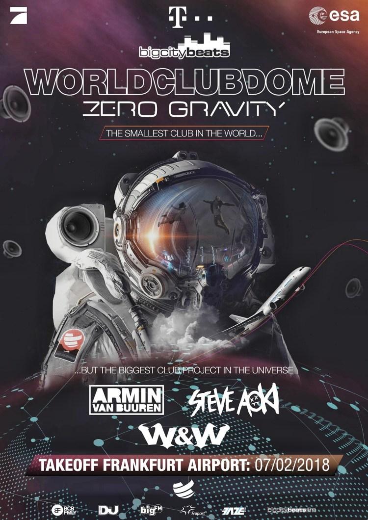 Zero Gravity 2018 Flyer