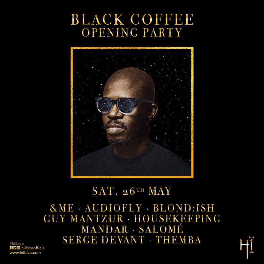Black Coffee Ibiza 2018