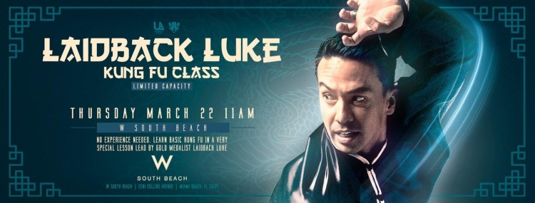Laidback Luke 2018 Miami Music Week Flyer