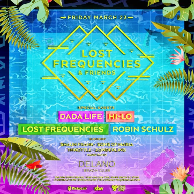 Lost Frequencies MMW 2018 Flyer