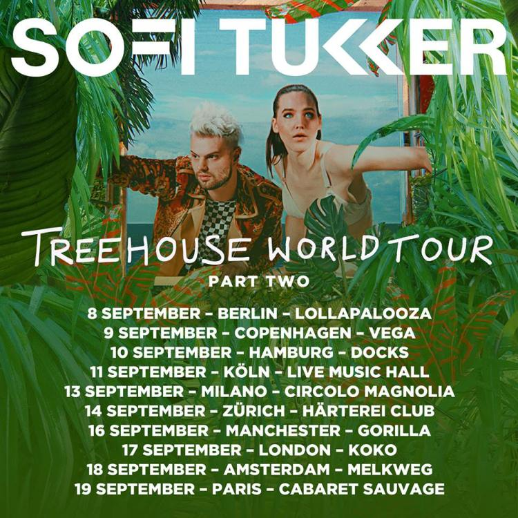 Treehouse World Tour Part Two Flyer