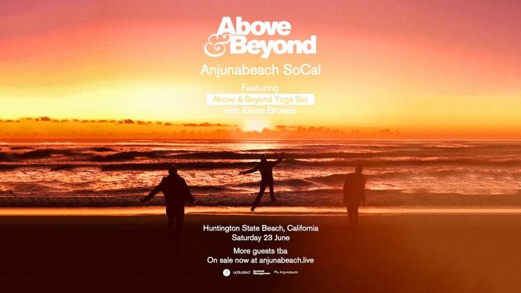 Above & Beyond Anjunabeach 2018 Flyer