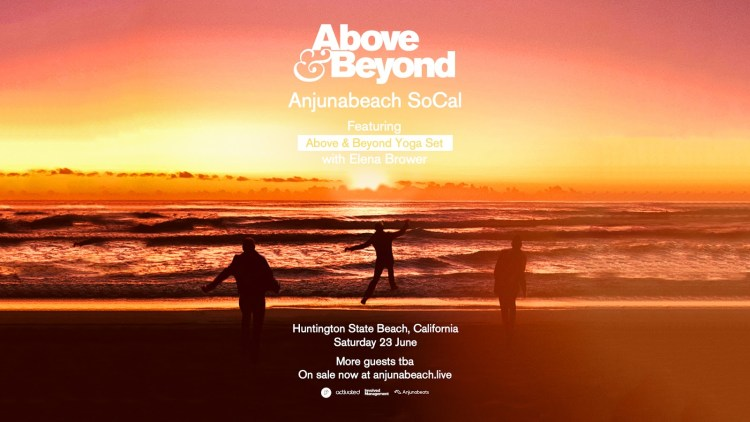 Above & Beyond Anjunabeach 2018 Flyer