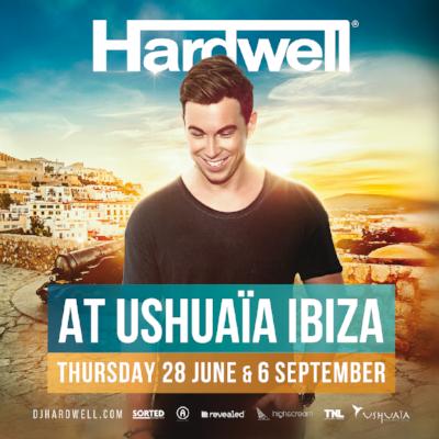Hardwell Ushuaia Ibiza 2018 Flyer