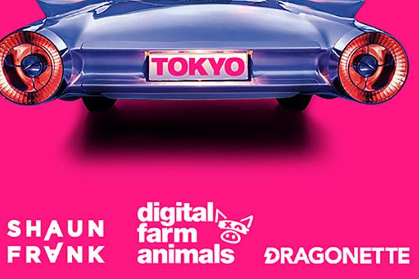 Digital Farm Animals, Shaun Frank & Dragonette - Tokyo Nights