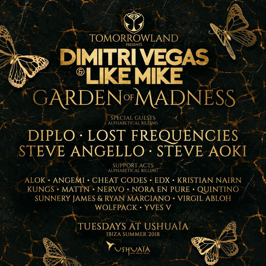 Dimitri Vegas & Like Mike Garden of Madness