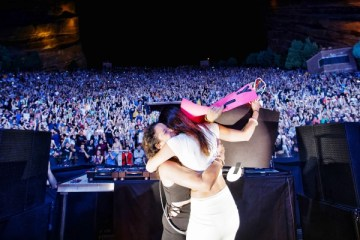 above beyond red rocks