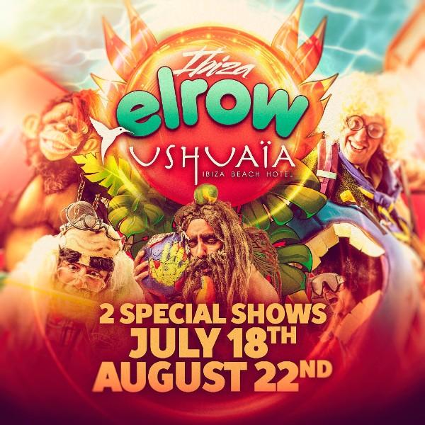 Elrow Ibiza 2018 Flyer