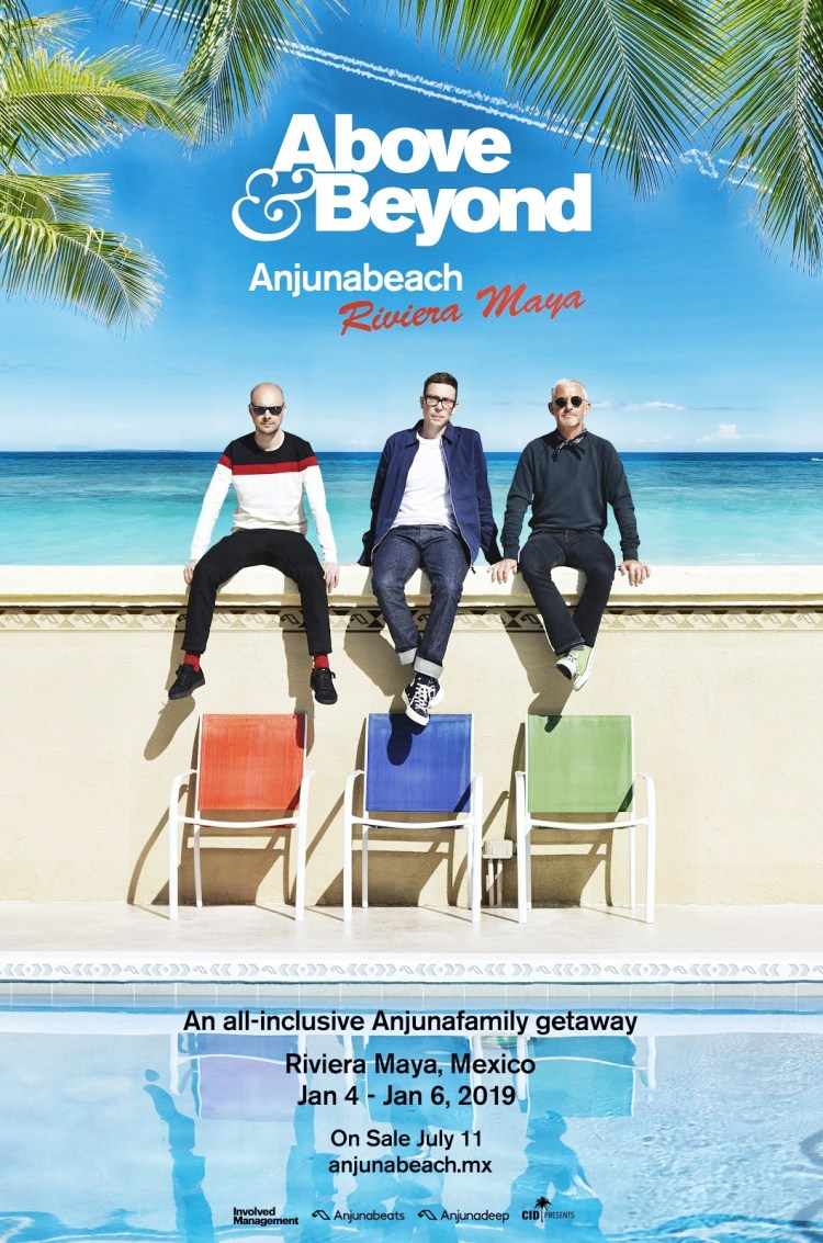 Above & Beyond 2018 Flyer