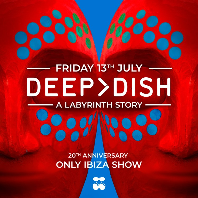 Deep Dish Pacha Ibiza 2018 Flyer