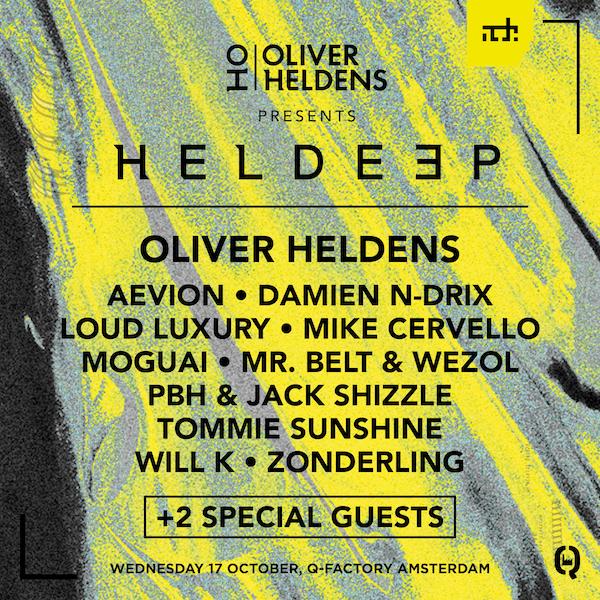 Oliver Heldens Flyer