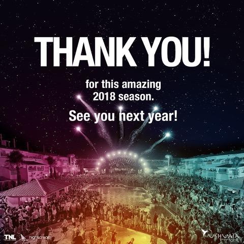 Ushuaia Ibiza 2018 Flyer