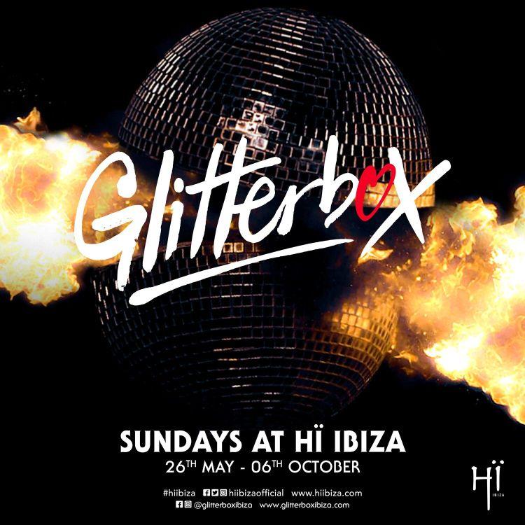 Ibiza Glitterbox 2019 Flyer