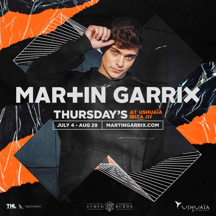 Martin Garrix Ushuaia Ibiza March 2019 Flier