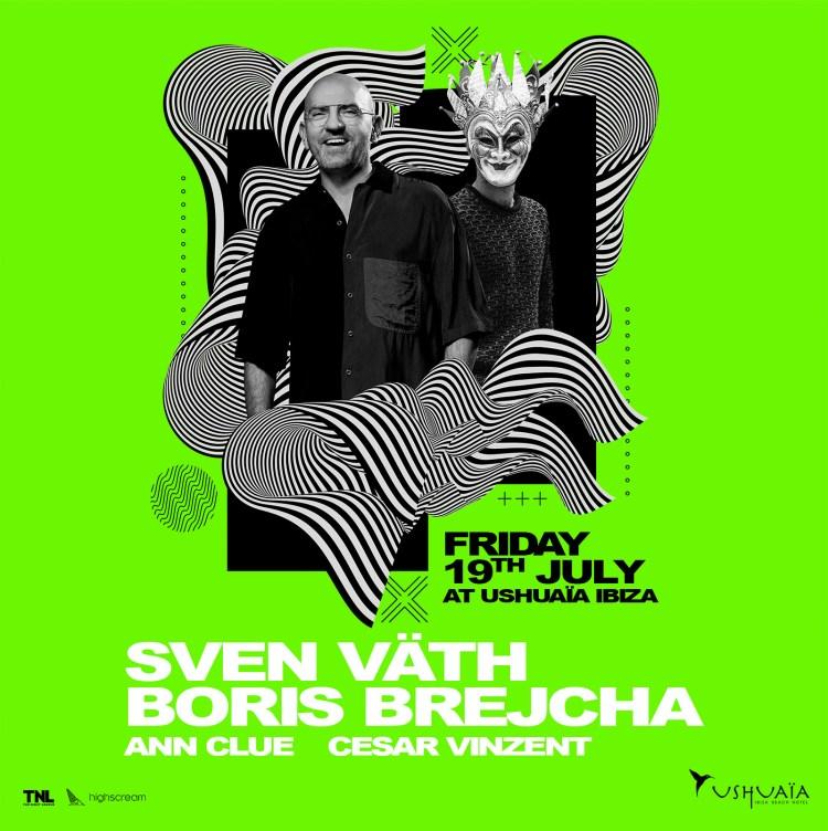 Sven Vath & Boris Brejcha Flyer