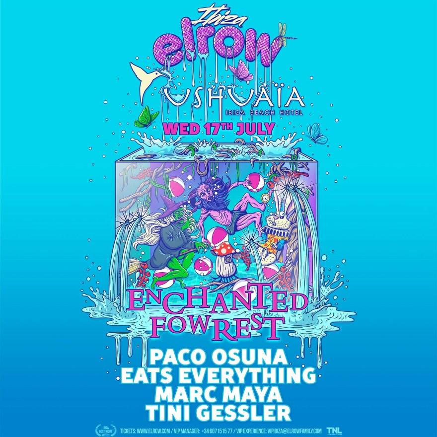Ibiza Elrow July 2019 Flyer