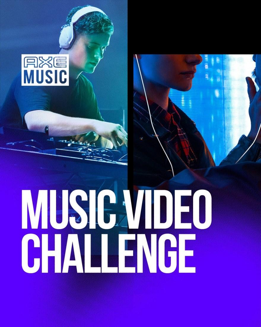 Martin Garrix Axe Music Video Challenge 2019 Flyer