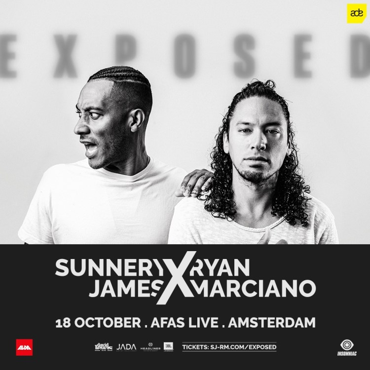 Sunnery James & Ryan Marciano ADE Flyer