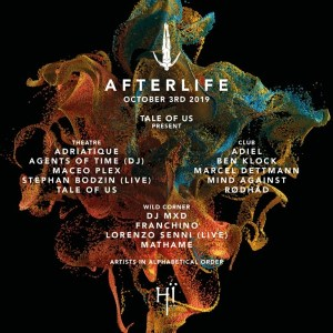 Afterlife Ibiza 2019