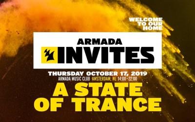 ARMADA INVITES ADE 2019 ASOT Thursday
