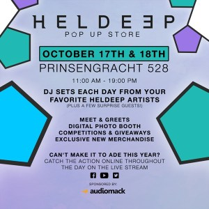 Oliver Heldens Heldeep Records Pop Up Store ADE 2019