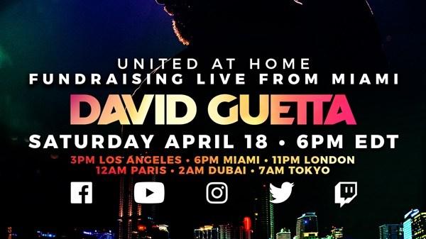 David Guetta COVID-19 Relief