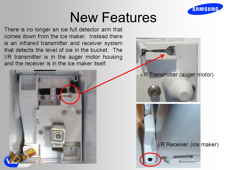 Samsung French Door Ice Maker Frosting Up
