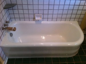Edmond Bathtub Refinishing - Edmond, OK - Refinished Historical Tub