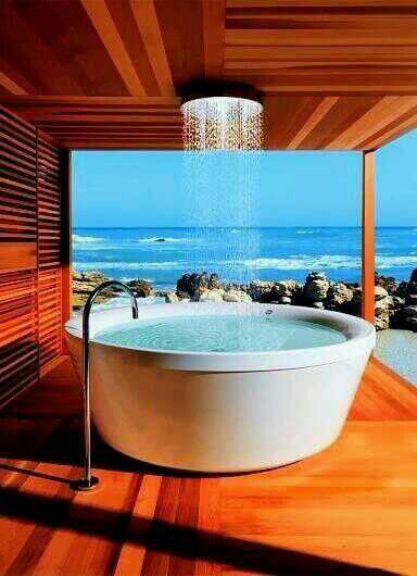 Beachside Bathtub