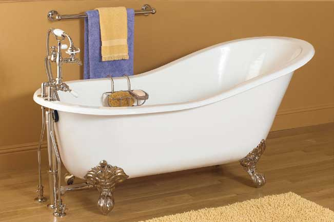 New Acrylic Clawfoot Bathtub