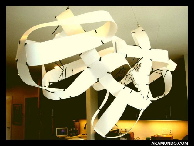 Vertical Blinds Sculpture