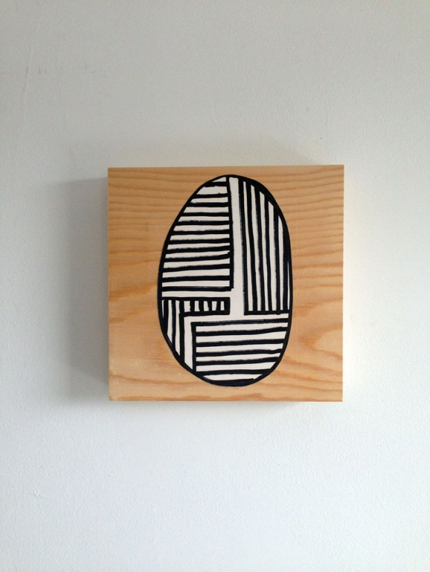 Woodpen - 1' x 1' – EVDB Contemporary Art