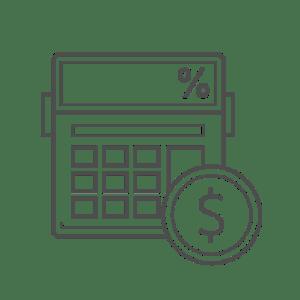 calculate tax icon