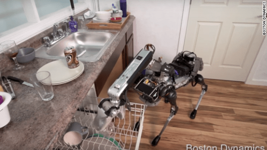 Googles robotic dog