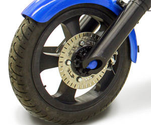 3D motorcycle wheel rim