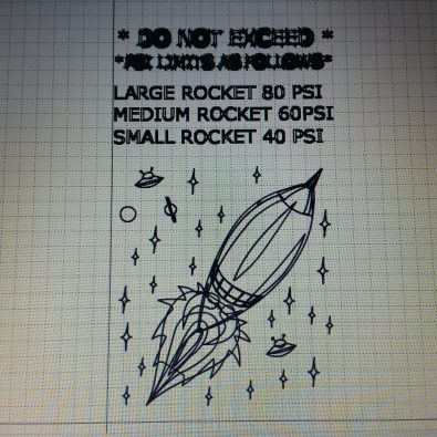 Ultimate Water Rocket signage 2