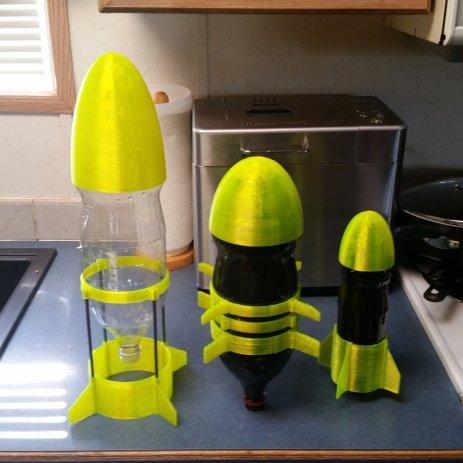 Ultimate Water Rocket rockets
