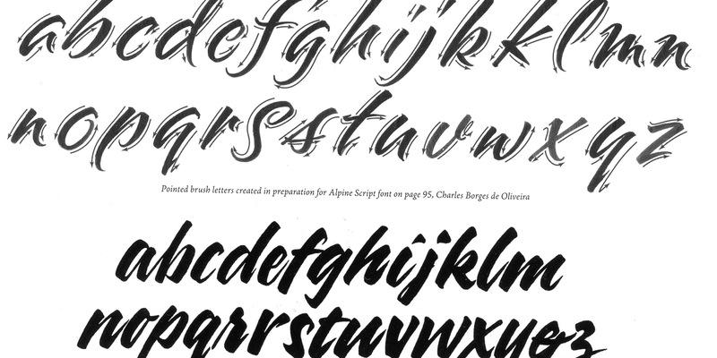 Brush Lettering Introductory/Refresher Class