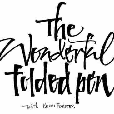 The Wonderful Folded Pen Workshop