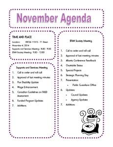 November 2014 Agenda copy