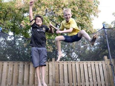 Boys Justin and Dallas