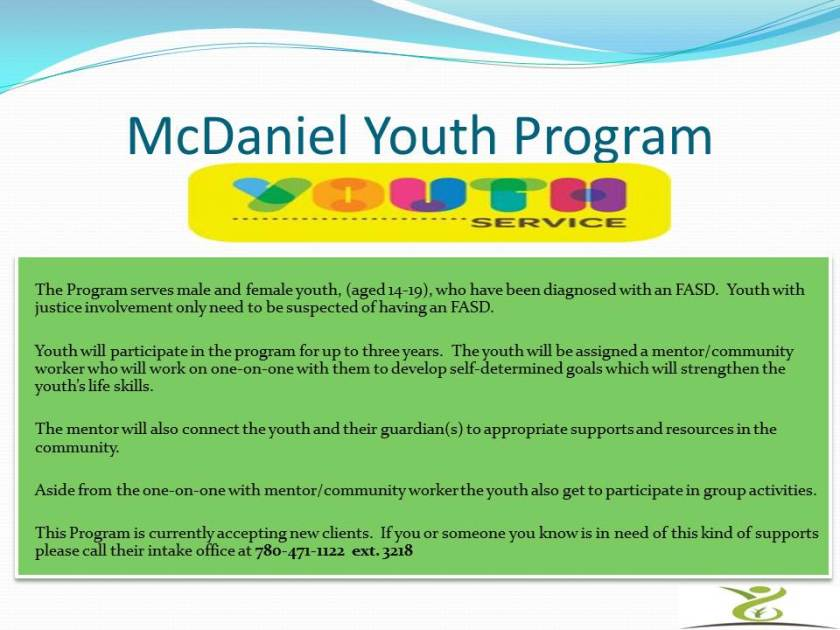 McDaniel Youth Program